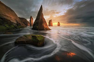 New Zealand Photograph - Warcraft by Tim Fan