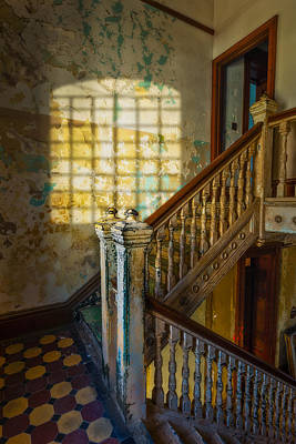 Photograph - Warden's Stair by Erwin Spinner