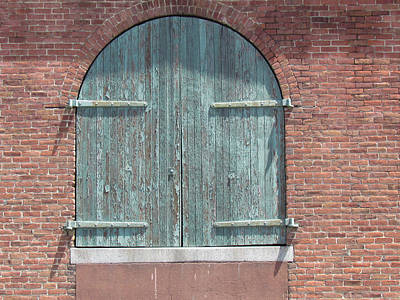 Photograph - Warehouse Door by Bonnie Muir