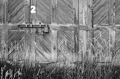 Photograph - Warehouse Door Number Two by Daniel Woodrum