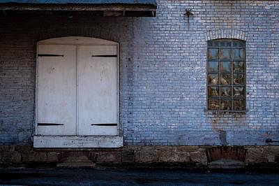 Photograph - Warehouse Doors by Wayne Meyer