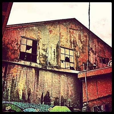 New Orleans Photograph - Warehouse New Orleans by Glen Abbott