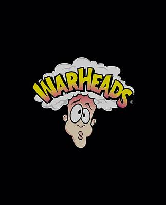 Candy Digital Art - Warheads - Logo by Brand A