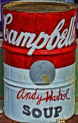 Digital Art - Warhol Soup by Joe Bledsoe