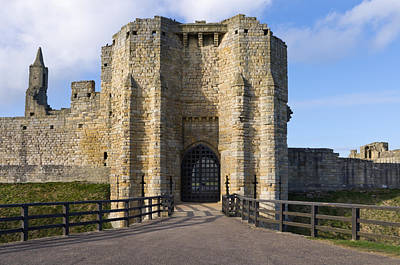 Travel Rights Managed Images - Warkworth Castle Gate house Royalty-Free Image by David Head
