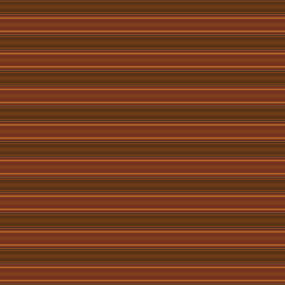 Digital Art - Warm Brown Horizontal Stripe by Judi Suni Hall