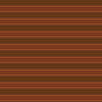 Digital Art - Warm Brown Horizontal Stripe by Judi Suni Hall