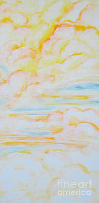 Painting - Warm Clouds by Heather  Hiland