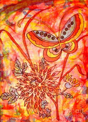 Tapestry - Textile - Warm Summer Abstract by Dale Jackson