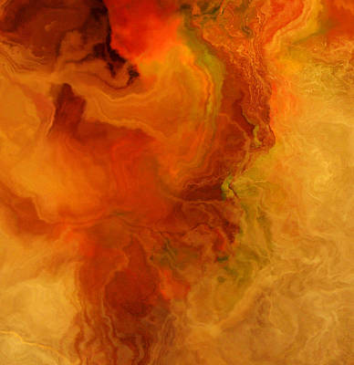 Mixed Media - Warm Embrace II - Abstract Art by Jaison Cianelli