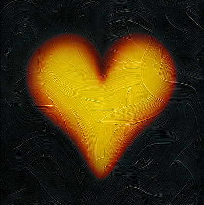Painting - Warm Heart. by Kenneth Clarke