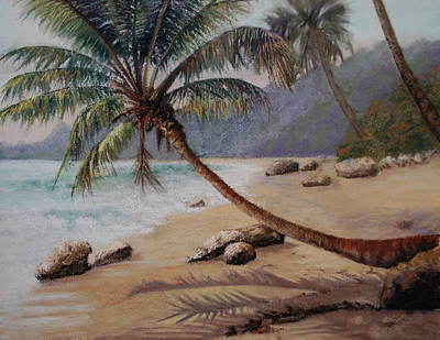 Pastel - Warm Sands Of The D.r.  by Lorraine McFarland
