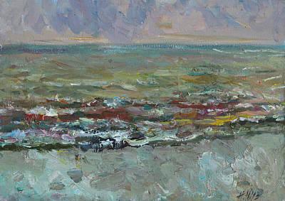 Painting - Warm Sea by Juliya Zhukova