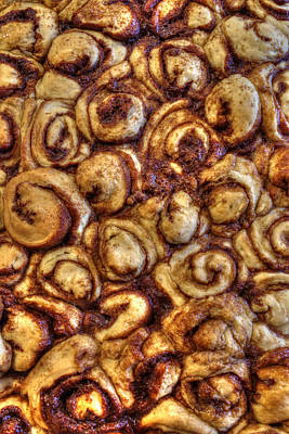 Photograph - Warm Sticky Buns by Philip Rispin