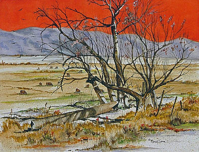 Painting - Warm Utah Sun by Mary Dove