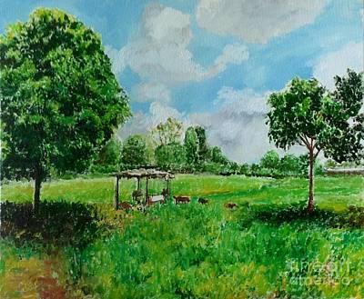 Painting - Warm Winter by Aditi Bhatt