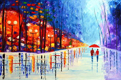 Painting - Warm Winter Day by Mariana Stauffer