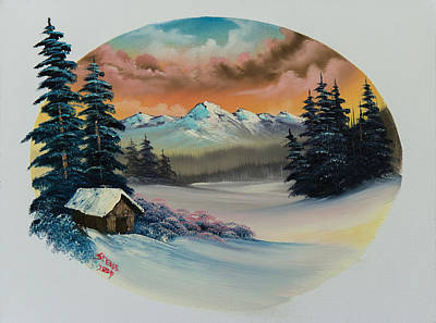 Painting - A Warm Winter's Day by C Steele