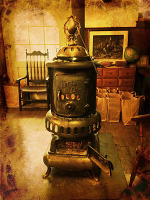 Photograph - Warming The Place Up by Richard Reeve