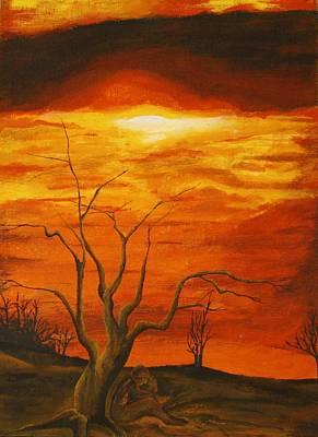 Warmth Original by Nathan  Lonnen
