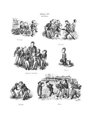 Warmup  Flareup   Appeal Art Print by William Steig