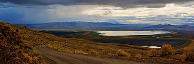 Photograph - Warner Valley Panorama by Daniel Woodrum