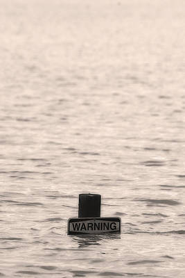 Warning Midwest Floods Art Print