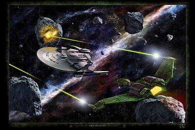 Klingon Wall Art - Photograph - Provocation by Dan Richelieu