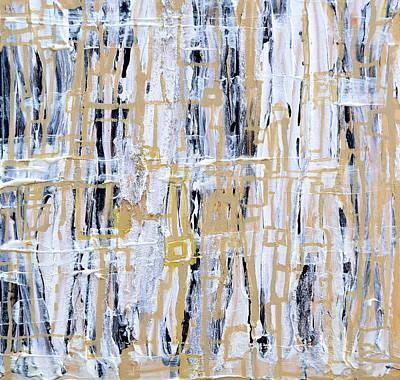 Painting - Warp And Weft by Regina Valluzzi