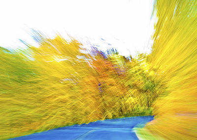 Photograph - Warp Speed On Blue Ride Parkway by Heather Grow