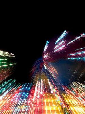 Strawberry Festival Photograph - Warp Speed by Shannon Workman