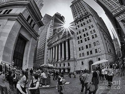 Photograph - Warped Wall Street by Mark Miller