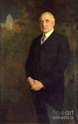 Smart Painting - Warren Harding by Edmund Hodgson Smart