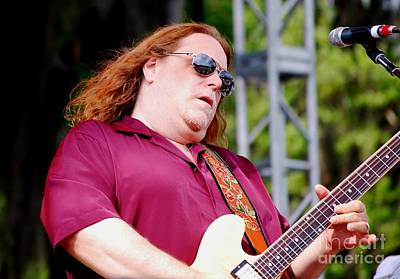 Photograph - Warren Haynes by Angela Murray