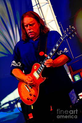 Photograph - Warren Haynes by Jesse Ciazza