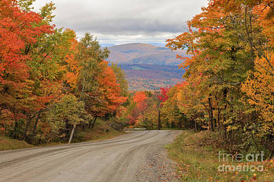 Photograph - Warren Mountain Road View by Charles Kozierok