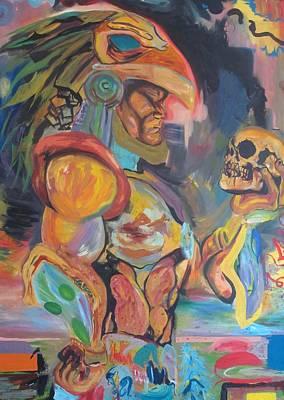 Warrior  Art Print by Erik Franco