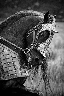 Warrior Horse Art Print