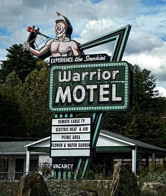 Photograph - Warrior Motel by Cathy Shiflett