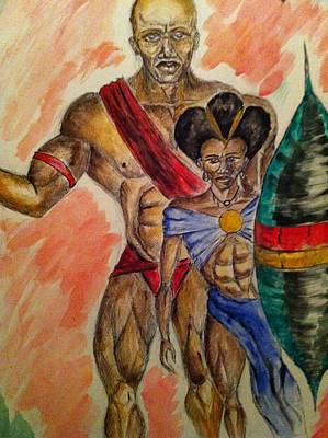 African Warriors Drawings Page 2 Of 2 Fine Art America