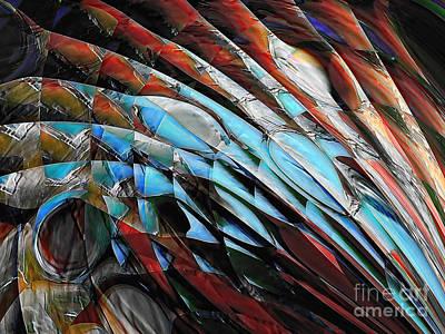 Digital Art - Warrior by Margie Chapman