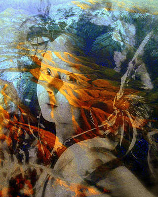 Photograph - Warrior Spirit by Jodie Marie Anne Richardson Traugott          aka jm-ART