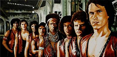 Warriors Come Out To Play Print by Al  Molina