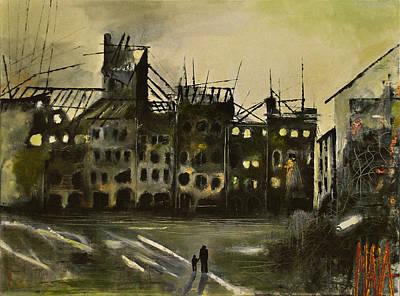Warsaw 1945 Art Print