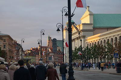 Photograph - Warsaw 6 by Mariusz Loszakiewicz
