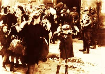 Warsaw Ghetto 1943 Art Print