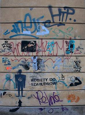 Photograph - Warsaw Graffiti by Steven Richman