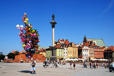 Photograph - Warsaw Old Town by Jacqueline M Lewis