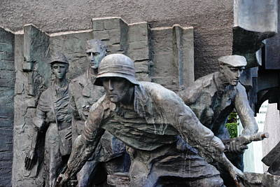 Photograph - Warsaw Uprising Monument by Jacqueline M Lewis