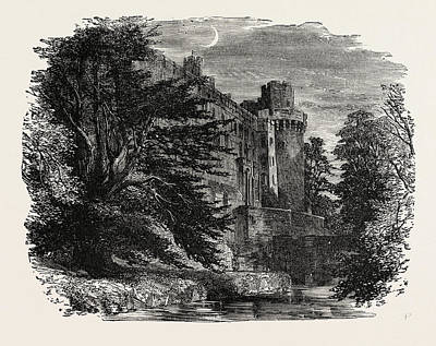 Warwick Castle Art Print by English School